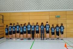 Unser Team von hinten